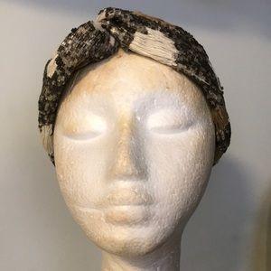 Zara Luxurious Beaded Headwrap